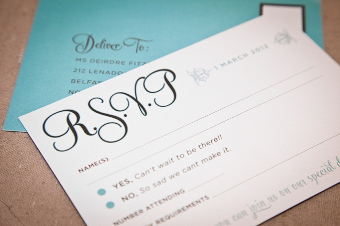 Studio Sol Dubai - Wedding passport invite