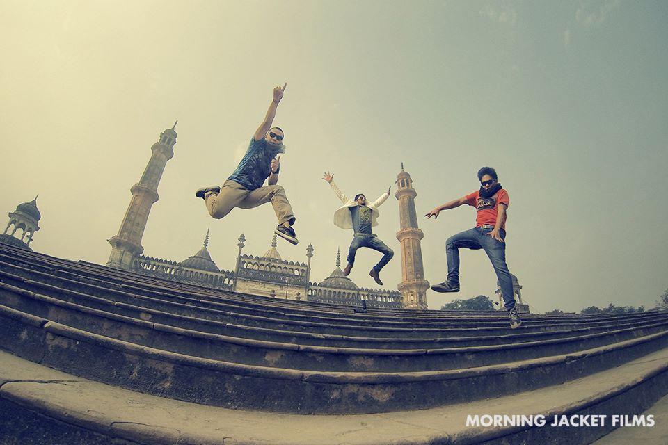 The Morning Jacket boys.
