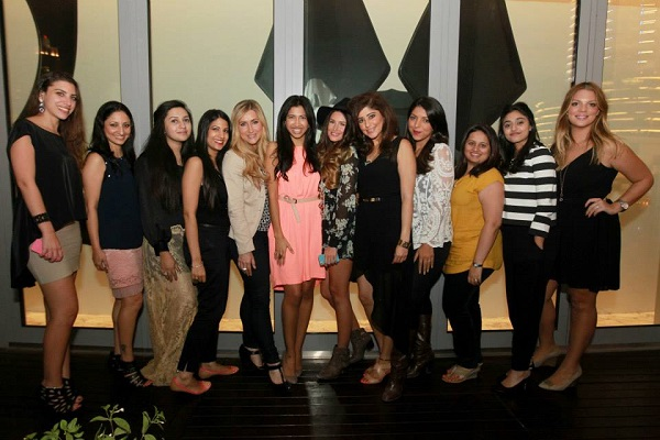 Above:  UAE based female bloggers and on line entrepreneurs unite at Katsuya Dubai for the #mediaInTheMaking event